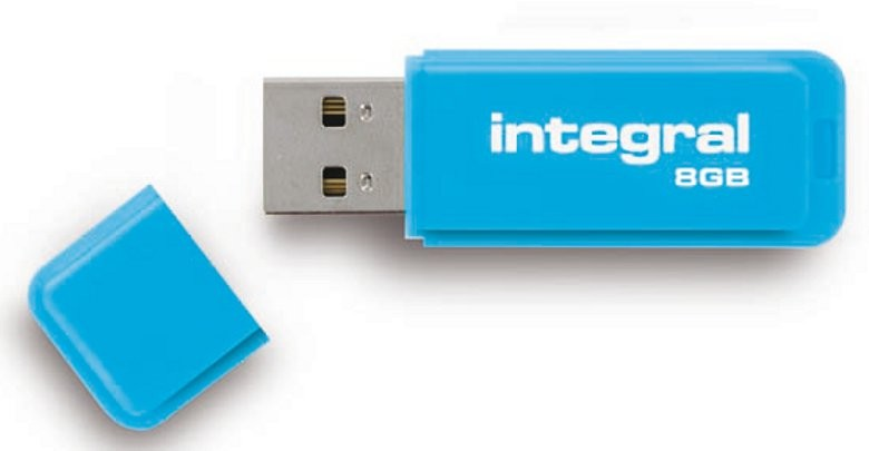 INTEGRAL - NEON BLEU 8 GB