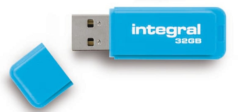 INTEGRAL - NEON BLEU 32 GB