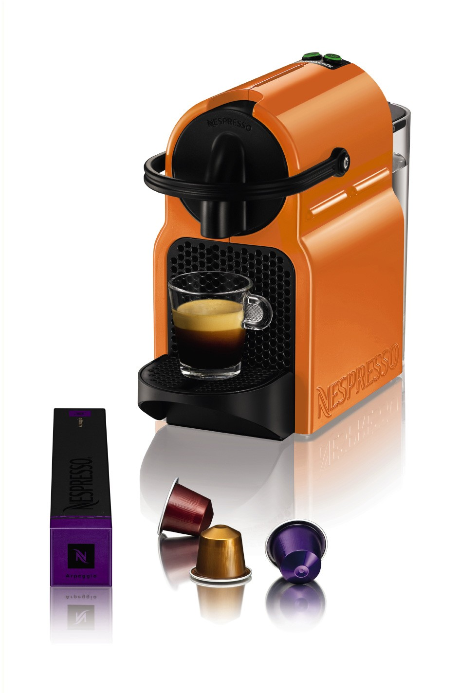 pulsat magimix nespresso inissia orange 11352. Black Bedroom Furniture Sets. Home Design Ideas