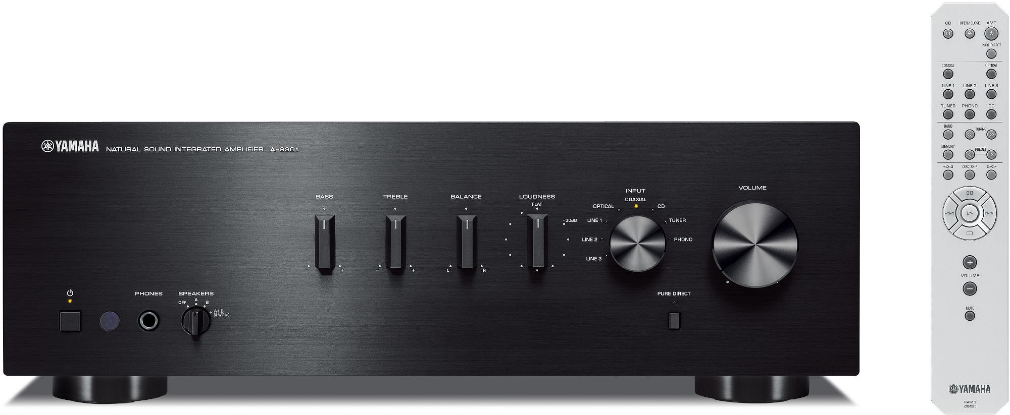 YAMAHA - AS 301 BLACK