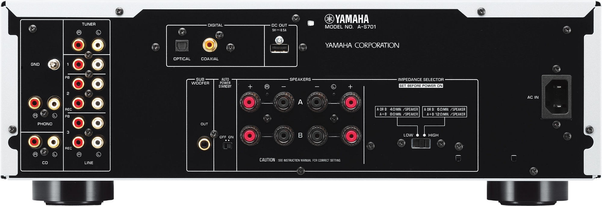 YAMAHA - AS 701 SILVER