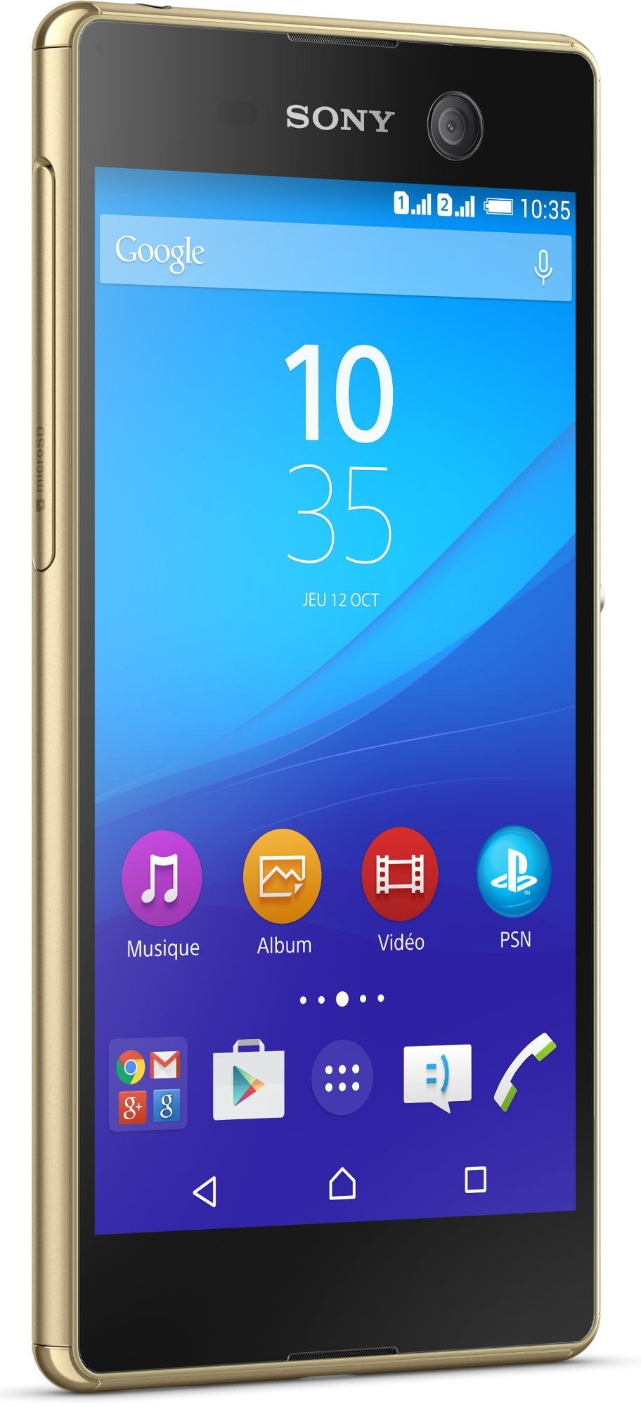 SONY - XPERIA M 5 GOLD