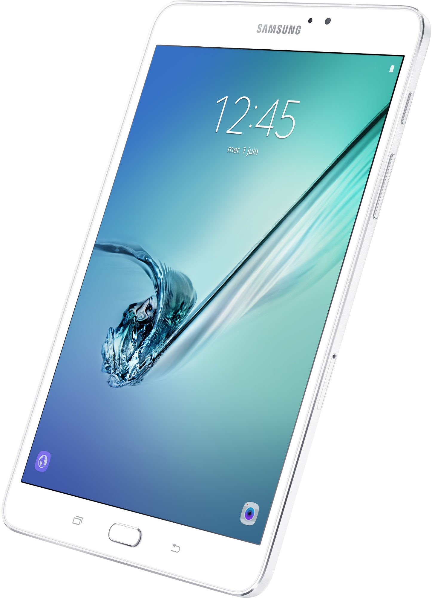 Samsung - Galaxy Tab S2 - 8 pouces - Blanc - Android 6.0 Marshmallow (SMT 713 NZWEXEF)