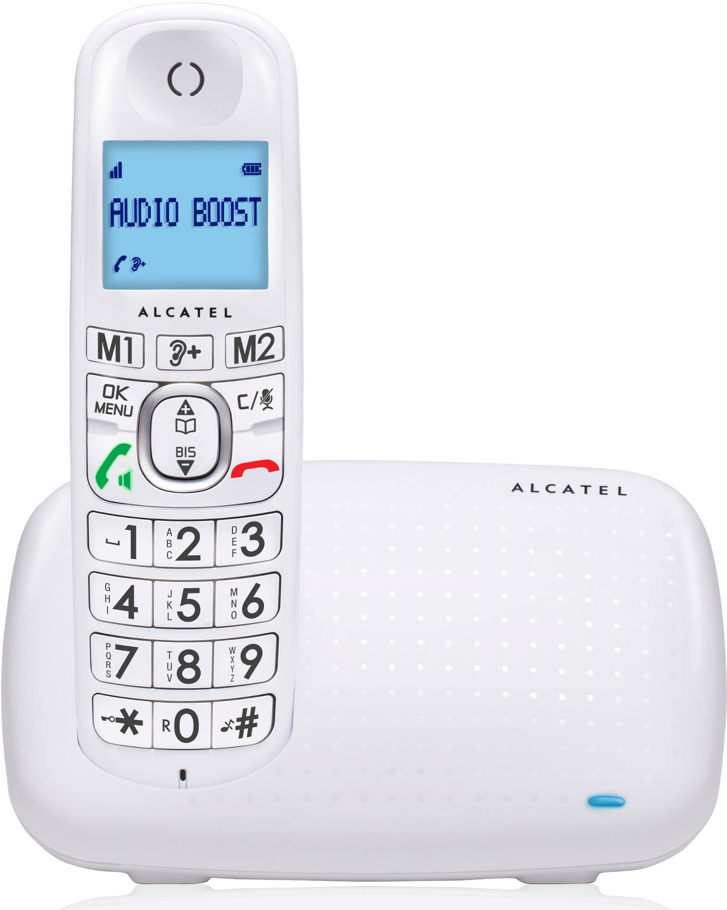 ALCATEL - XL 385 BLANC