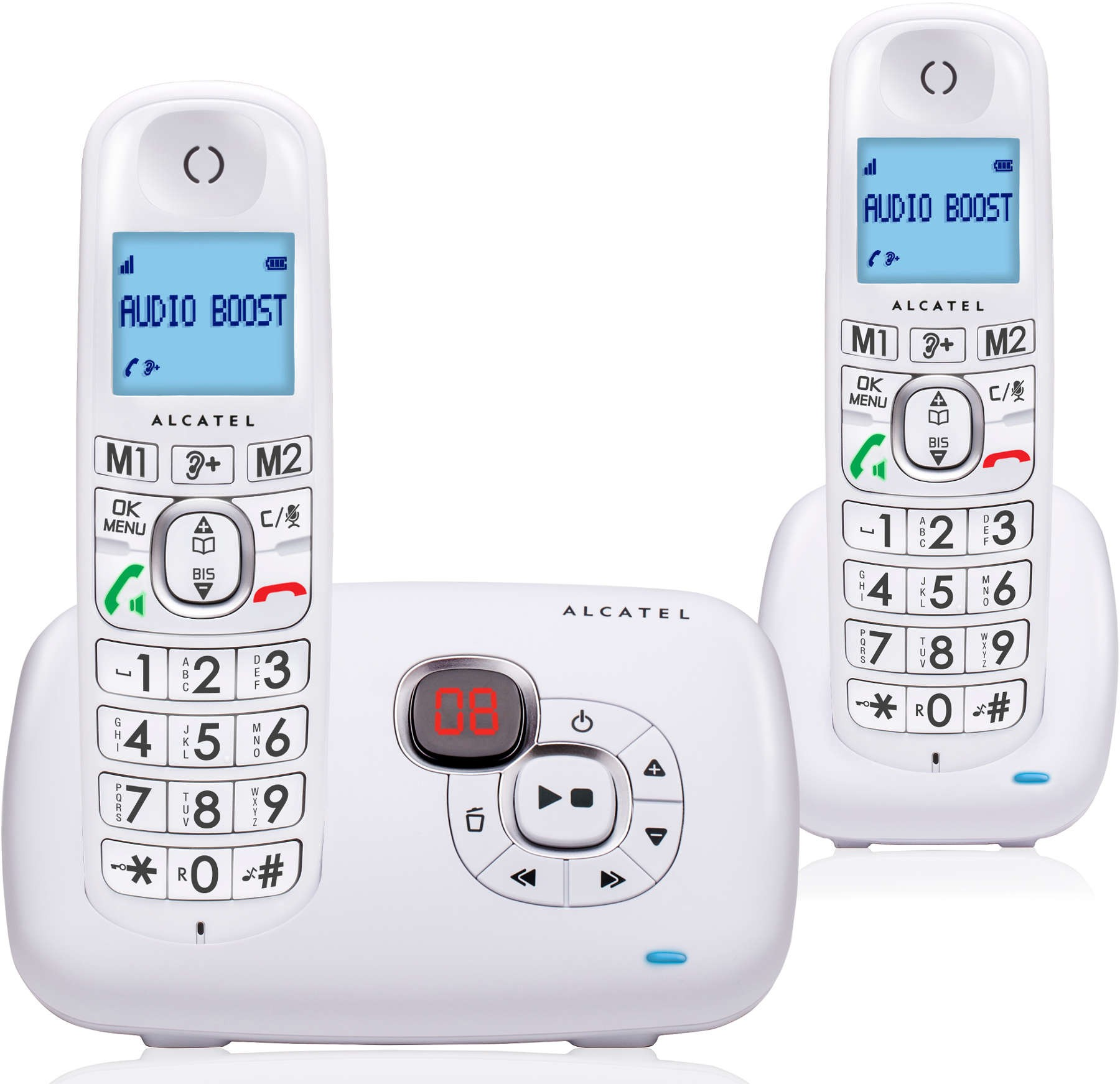 ALCATEL - XL 385 VOICE DUO BLANC