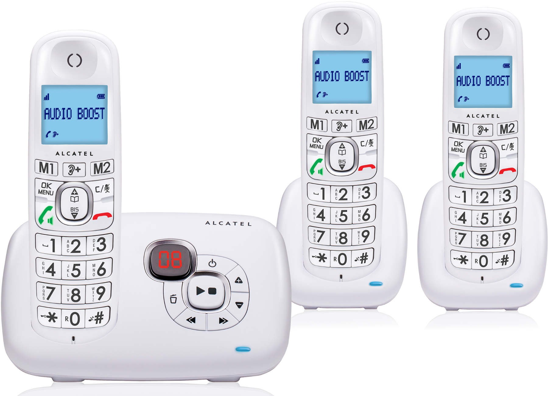 ALCATEL - XL 385 VOICE TRIO BLANC