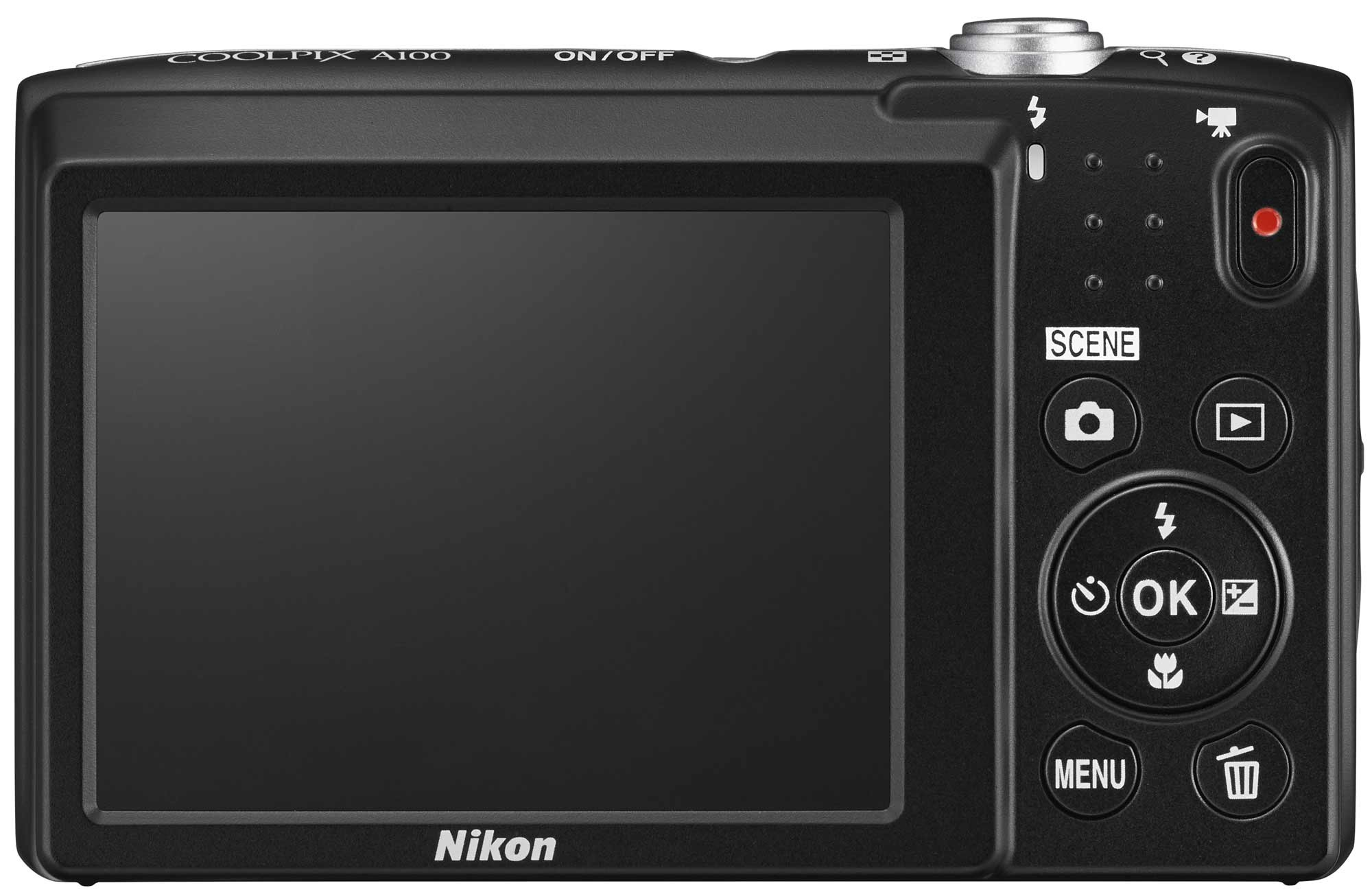 NIKON - COOLPIX A 100 ROUGE
