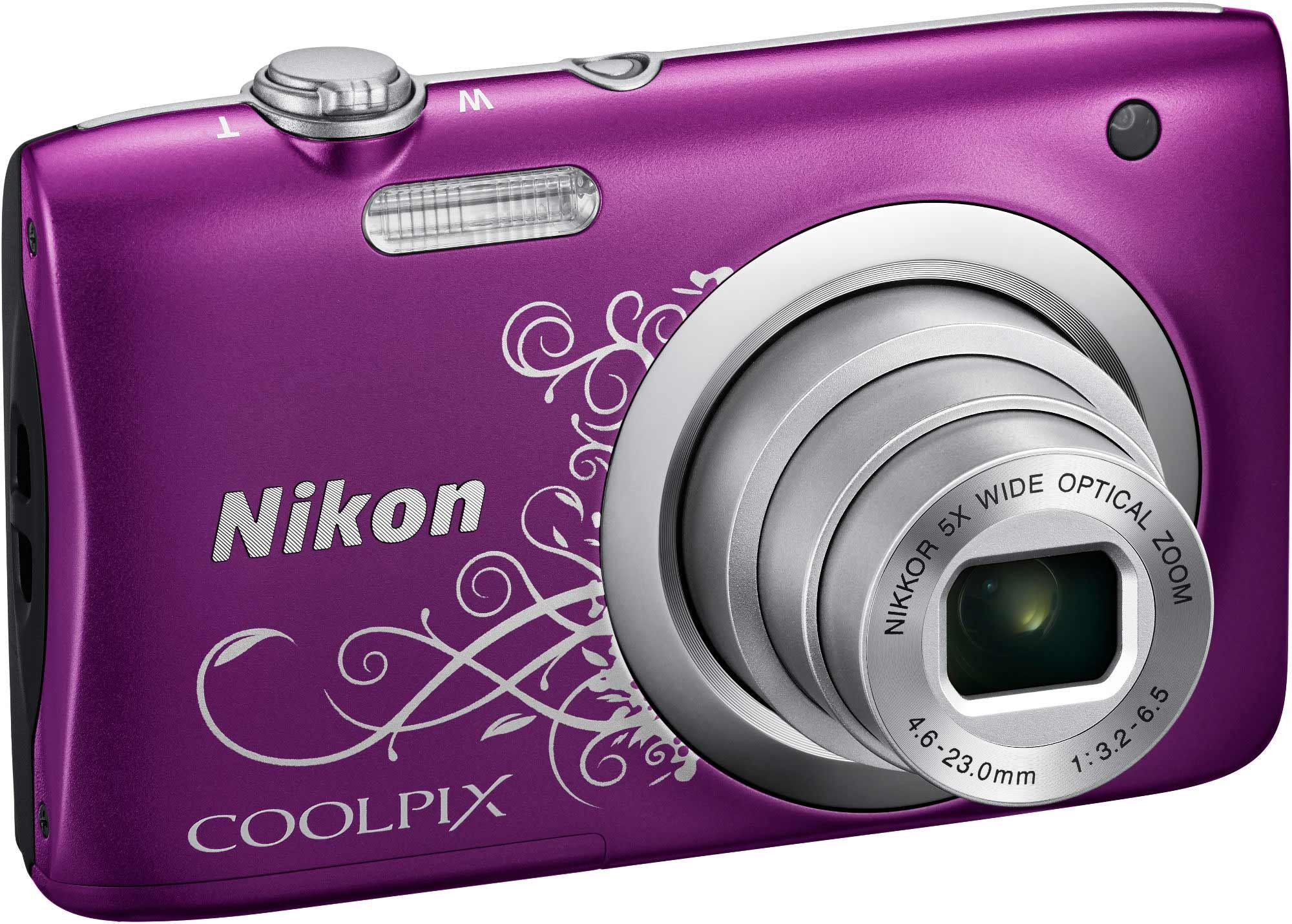 NIKON - COOLPIX A 100 VIOLET ARABESQUE