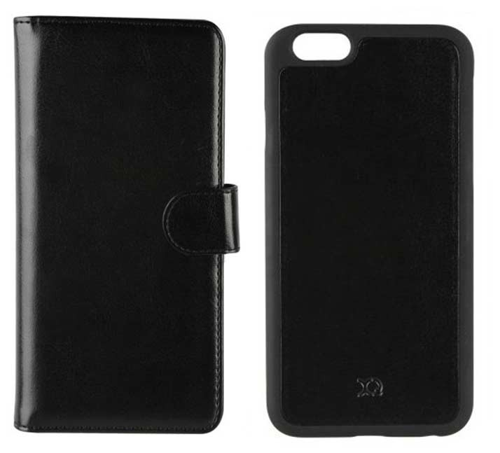 XQISIT - ENS FOLIO+COQUE IPHONE 6/6 S