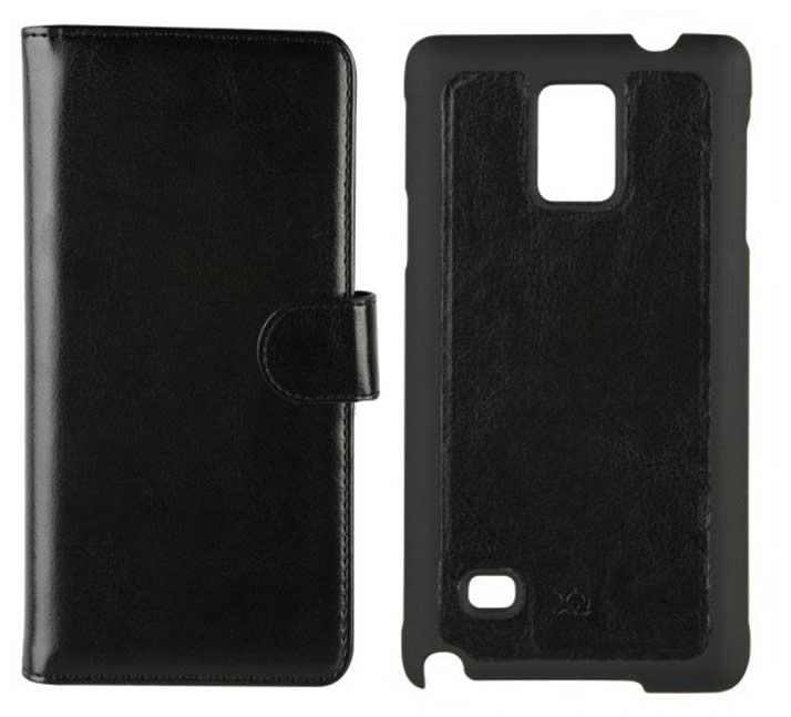 XQISIT - ENS FOLIO+COQUE NOTE 4