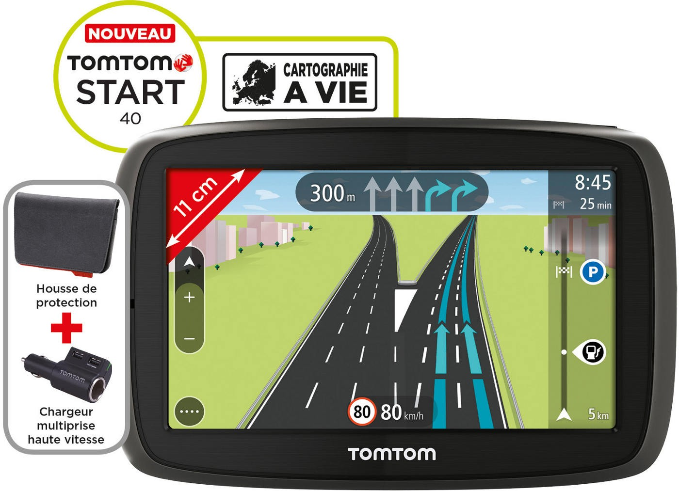 TOMTOM - START 40 PREM PACK
