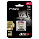 INTEGRAL - SDXC 64 GB CL 10 95/60