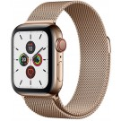 Apple Watch Series 5 GPS + Cellular 40 mm Or / Bracelet or milanais - MWX 72 NF/A