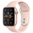 Apple Watch Series 5 GPS 40 mm Or + Bracelet Silicone Rose - MWV 72 NF/A