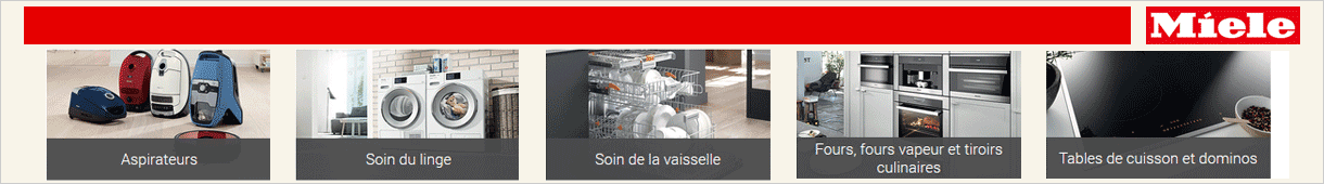 La boutique MIELE