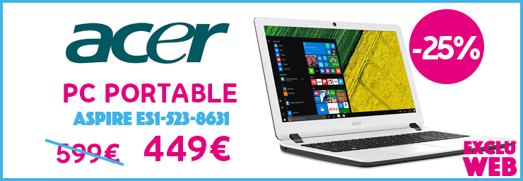 soldes PC portable ACER
