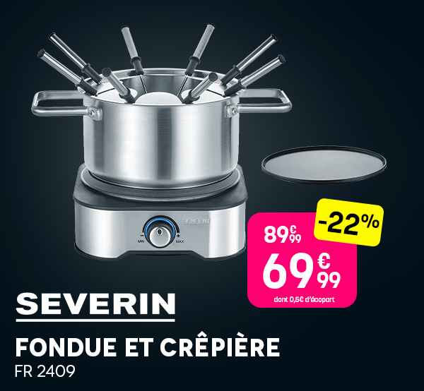 Fondue SEVERIN - Black Friday 2020 Pulsat