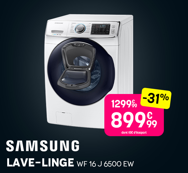 Lave-linge SAMSUNG - Black Friday 2020 Pulsat