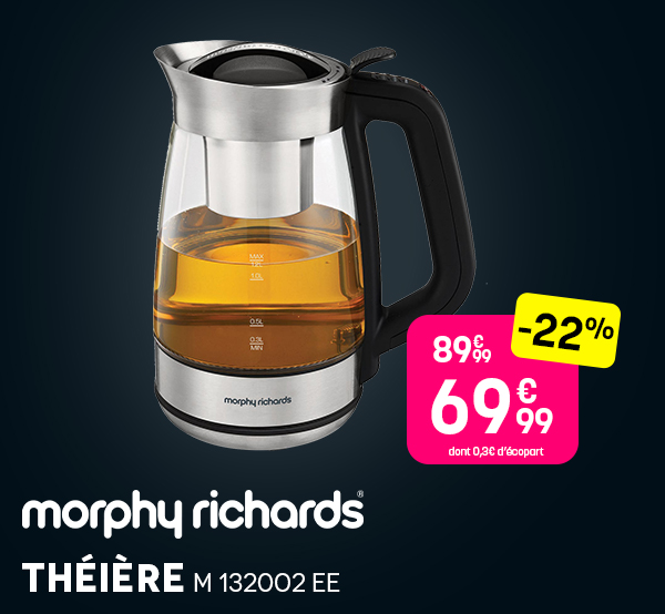 Théière MORPHY - Black Friday 2020 Pulsat